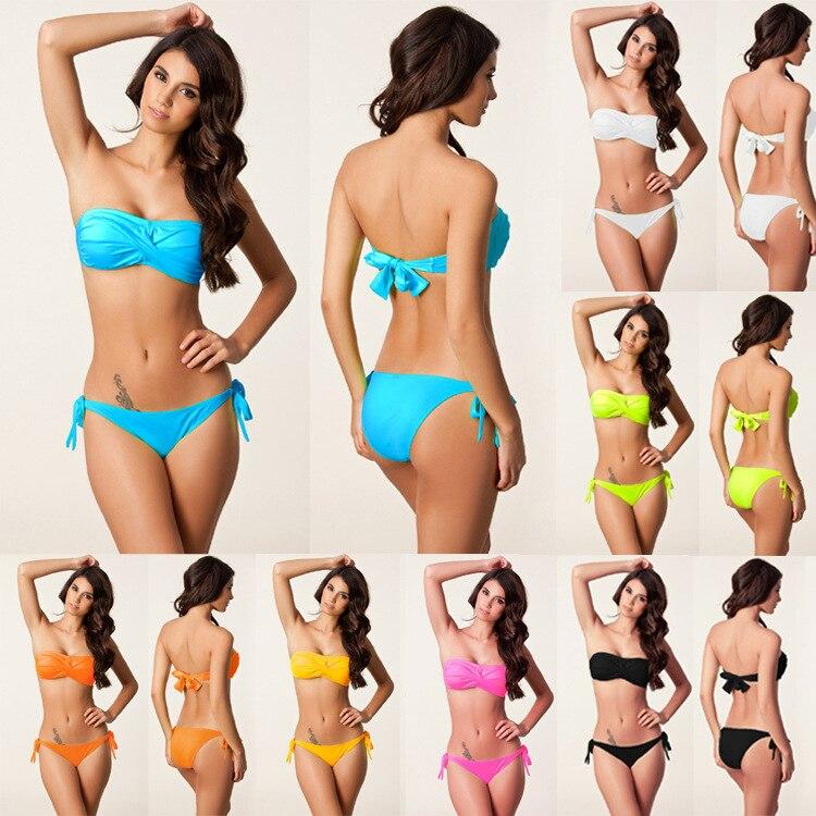 SWIMMART New Hot Push Up Bikini Լողազգեստներ - Սպորտային հագուստ և աքսեսուարներ - Լուսանկար 2