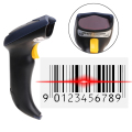 Automatic USB Laser Scan Standard 1D Barcode Scanner Bar Code Reader Handheld For Automatic Continuous Scan USB  FW1S