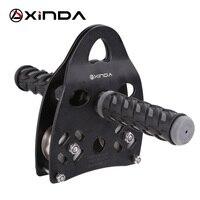Venta Xlinda mango profesional equipo de rodillo de polea al aire libre escalada en roca tirano cruzado equipo de transporte de peso