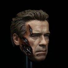 """1/6 Head Sculpt cho Cơ Bắp Đồ Chơi Hot T800 Terminator Cơ Thể cho 12 """"Hành Động Hình búp bê Đồ Chơi"""
