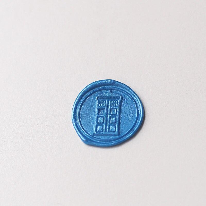 Police Box Sealing Wax, Doctor Wax Seal Stamp, geek gift idea legend of zelda triforce wax seal stamp zelda stamp gift for geek sealing wax ws180