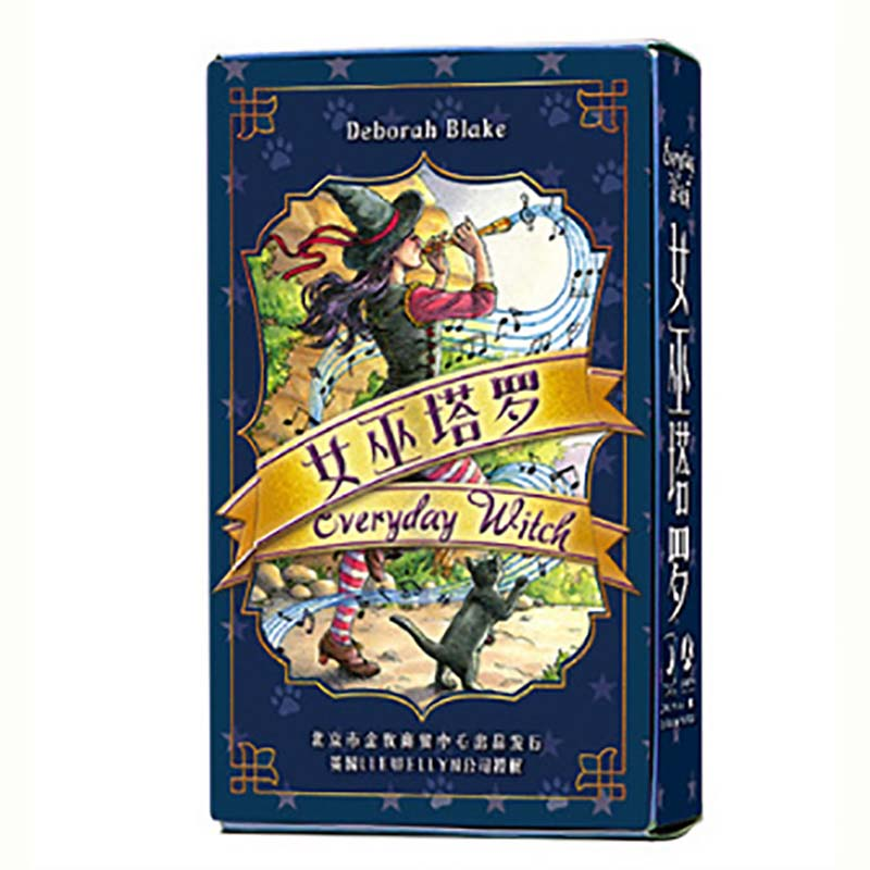 Witch Tarot Cards Divination Cards Game 12*7cm Cards Chinese Version For Family/Friends