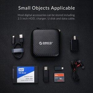 Image 5 - ORICO Tai Nghe Ốp Lưng Tai Nghe Túi USB Sạc Cáp Tai Nghe Chụp Tai Accessorries Lưu Trữ
