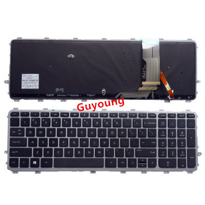For HP ENVY 15 J 17 J series 720244 001 720245 001 711505 001 736685 001 6037B0093301 V140626AS2 Laptop US keyboard backlit