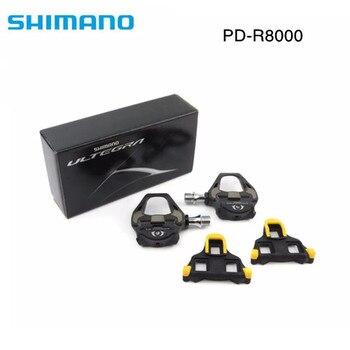 Shimano Ultegra PD R8000 route TT Triathlon vélo carbone pédales & SM SH11 crampons pédale R8000 carbon pedals pedal pedales carbon bike pedals -