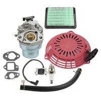 For Honda GCV160 GCV135 Carburetor Kit Starter Air Filter Spark Plug Quality
