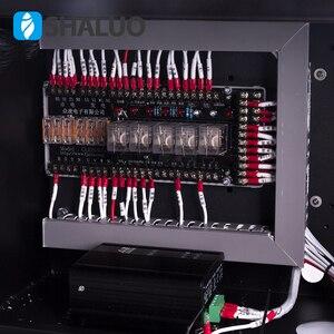 Image 4 - Bir set dizel jeneratör seti Otomatik kontrol kabini Otomatik start stop koruma 6120U 6110U denetleyici ATS bir set