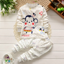 soft cotton baby boy girl clothing sets newborn kids turtleneck underwear infant lovely clothes for spring autumn winter