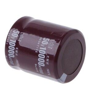 Image 4 - 10000 미크로포맷 50V 105 섭씨 전원 전해 커패시터 스냅인 스냅인 S927