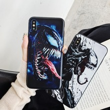 NEW Movie Venom Deadly guardian Matte Soft Case For iPhone X 6 6S 7 8 Plus XS XR MAX