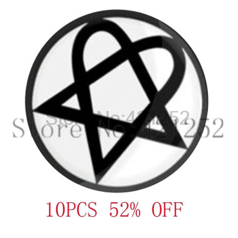 Хартаграмма heartgram H. Я. М. Готический LDS мормонов CTR подарок для Него ожерелье брелок закладки Запонки Серьги