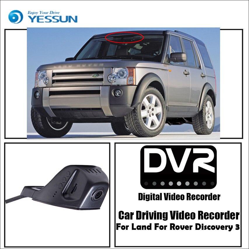 YESSUN pour Land Pour Rover Découverte 3 Voiture Conduite Enregistreur Vidéo DVR Mini Contrôle APP Wifi Caméra Registrator Dash Cam