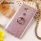 AKABEILA Phone Cover Case For Huawei GR5 Honor 5X Honor Play 5X KIW-TL00 KIW-TL00H Honor5X 5.5 inch Case Glitter Silicone Cover