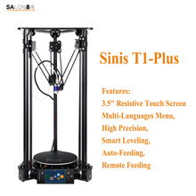 Sinis T1-Plus Optional Low Impact Laser Engraver 3d Printer Multi-Functional Intelligent Leveling Impressora 3d with 3.5″ Screen