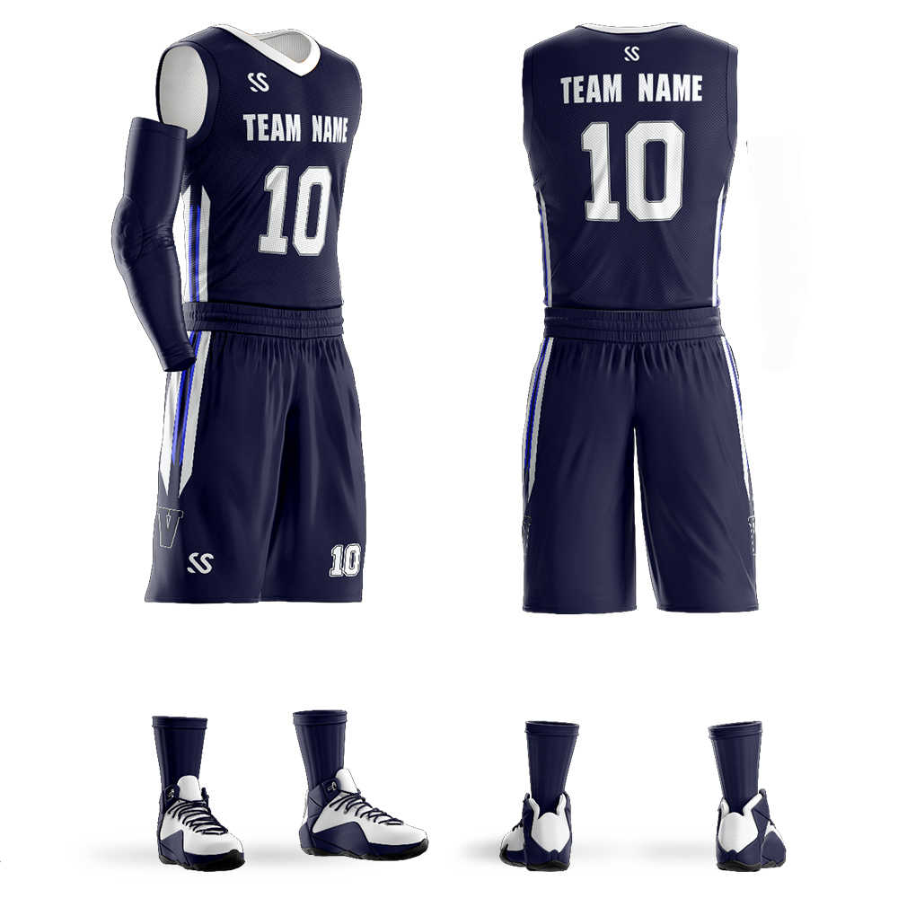 2019 Custom Men's Youth Basketball jerseys sets Any Name Any Number DIY Team custom Basketball Uniform Big Size 6XL