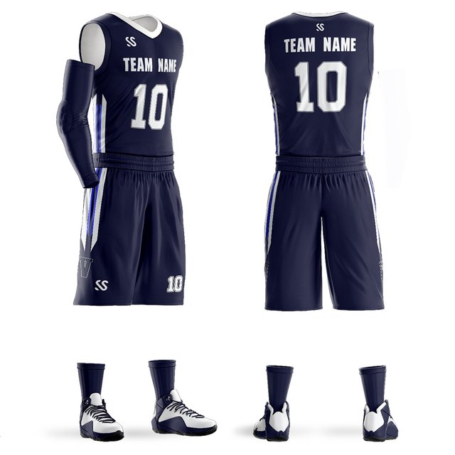 4131514f51b2 2019 Custom Men s Youth Basketball jerseys sets Any Name Any Number DIY  Team custom Basketball Uniform Big Size 6XL