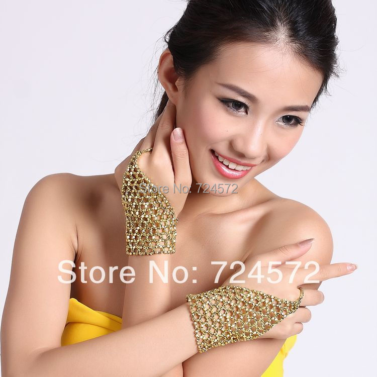 Belly Dance Elastic Bracelet Single Ring Chain Belly Dance Accessories Single