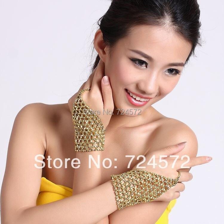 Belly Dance Elastic Bracelet Single Ring Chain Belly Dance Accessories Single