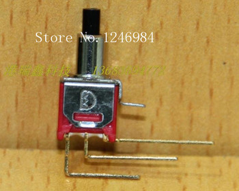 [SA]TS-22B gilded single small toggle switch M5.08 reset button normally open normally closed Deli Wei Q28--50pcs/lot