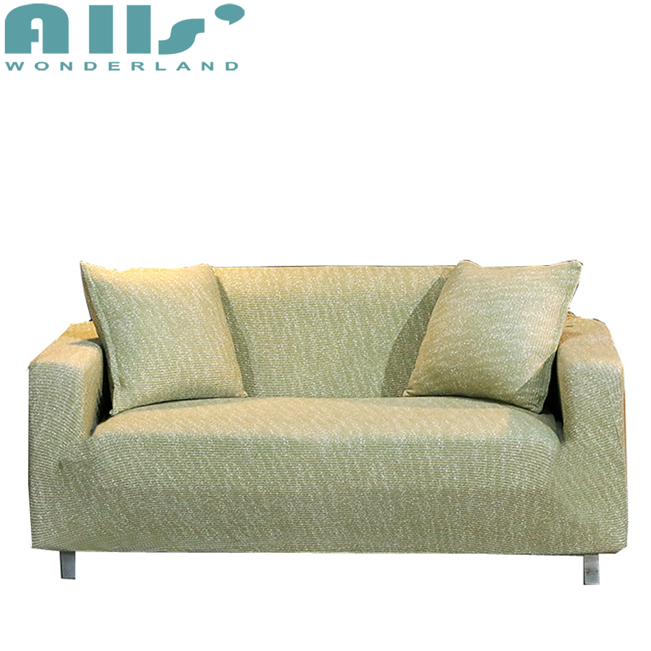 Slipcover Furniture Living Room: Green Universal Stretch Furniture Covers For Living Room