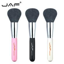 JAF Natural Goat Hair Face Make Up Brush Foundation Powder Blusher Contour Bonzer Base Beauty Makeup Tools 18GKY