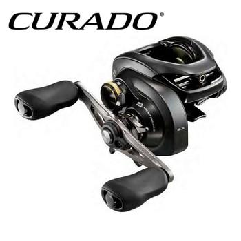 Original SHIMANO CURADO K Low profile fishing reel 6+1BB MicroModule gear Hagane Body curado 200hgk
