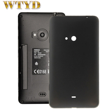 Para nokia lumia 625 caso tampa do telefone móvel caso de telefone plástico de alta qualidade substituição da bateria tampa traseira para nokia lumia 625
