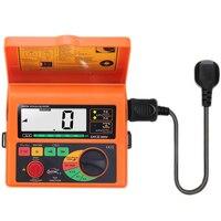 Interruptor do escapamento tester medidor de resistência digital rcd loop resistência tester multímetro ferramenta reparação elétrica sw5406