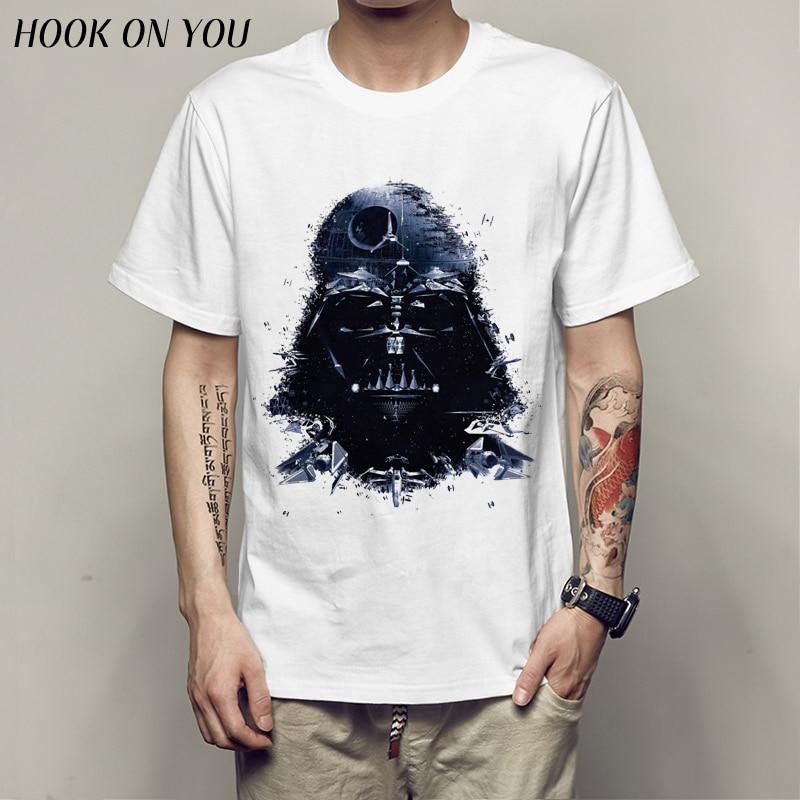 star war   T  -  shirts   printed ArmorLock   t     shirt   men Funny novel men 's top tees Harajuku Style warrior   t     shirt   Darth Vader camiseta
