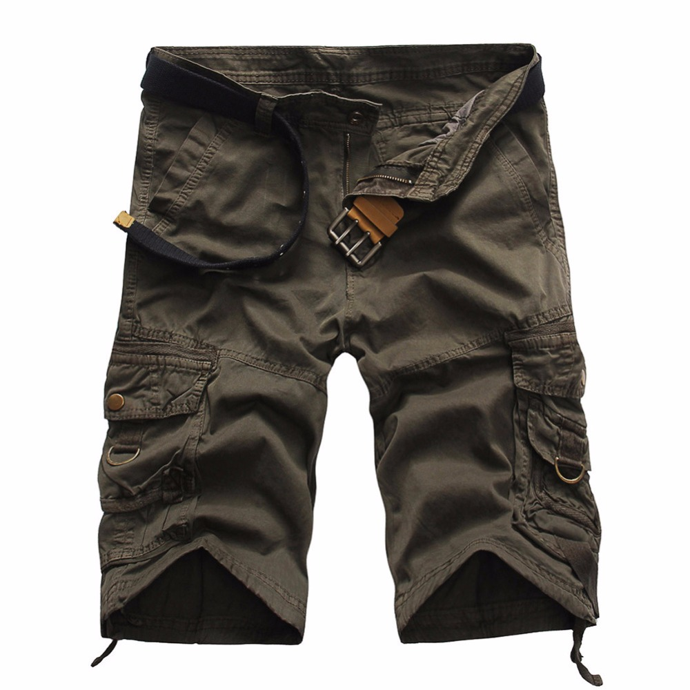 Camouflage Camo Cargo Shorts Men 2018 New Mens Casual Shorts Male Loose Work Shorts Man Military Short Pants Plus Size 29-38