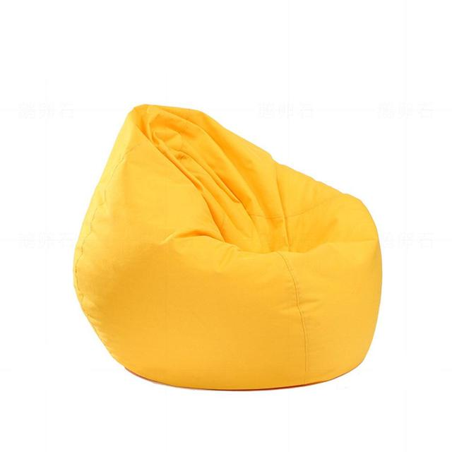 Us 13 82 29 Off Adeeing Waterproof Stuffed Animal Storage Toy Bean Bag Solid Color Oxford Chair Cover Beanbag Filling Is Not Included In