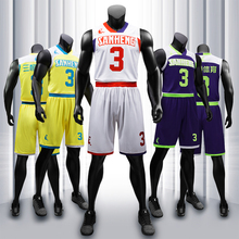SANHENG Mens Basketball Jersey Shorts Competition Uniforms Suits With Pocket Quick-Dry Custom Jerseys S117180