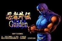 Ninja Gaiden Sega Mega Drive For Genesis 1