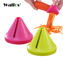 WALFOS Funnel Model Durable Rotary Shred Spiral Slicer Vegetable Cutter Carrot Radish Kitchen Accessories
