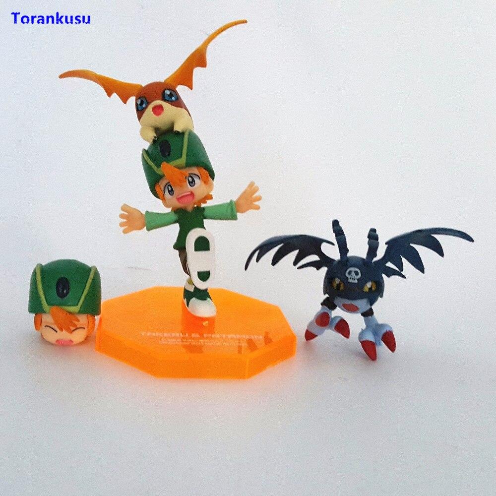GEM Digimon Adventure Patamon /& Takaishi Takeru PVC Figure Anime Toy Gift