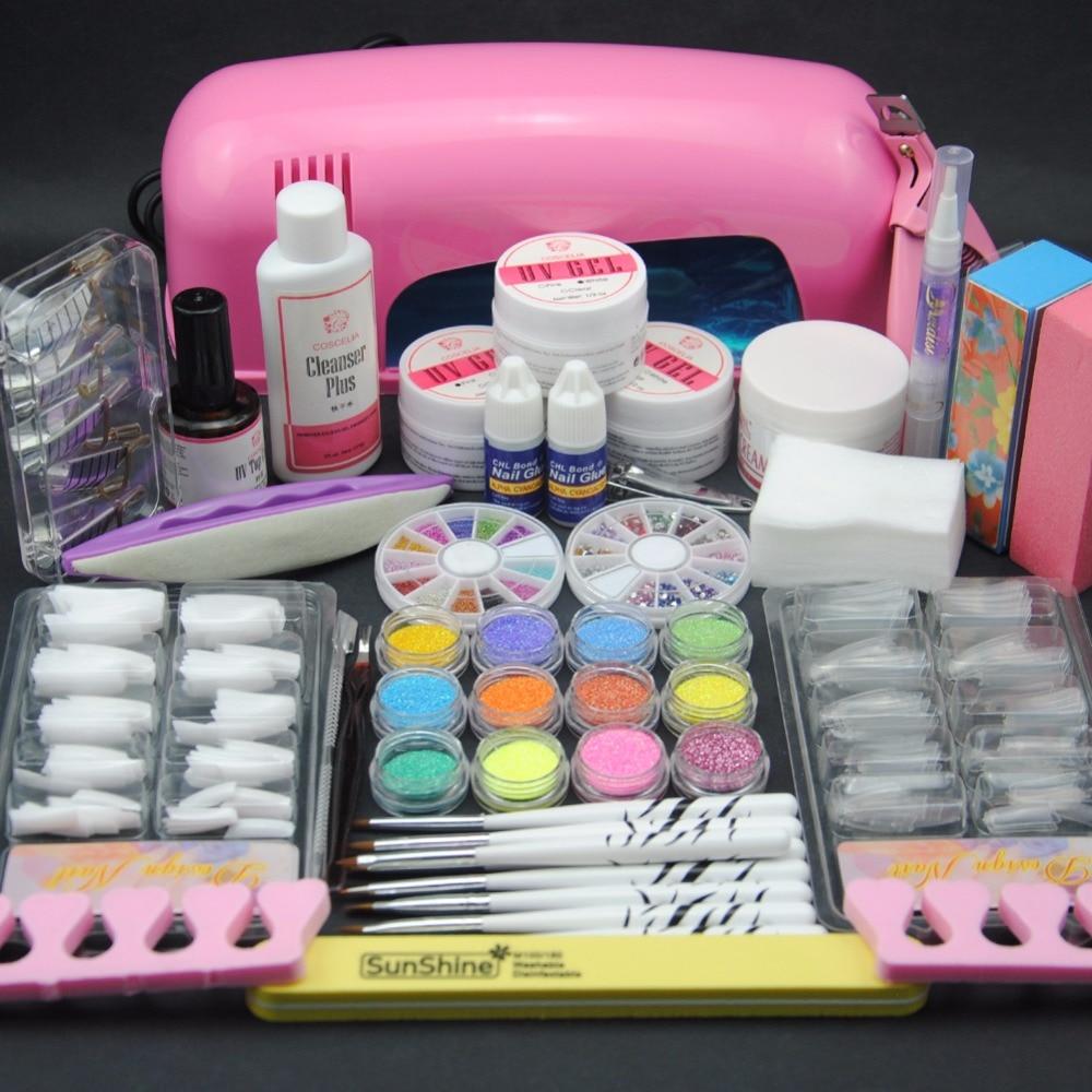Nail Art Starter Kit: Pro Starter Kit Nail Salons Kit Nail Art Acrylic Powder