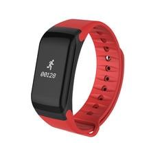 Original F1 Smartband Wristband Sport Watch Intelligent Bracelet Call Reminder Step Pulse Heart Rate Monitor IP67 Waterproof