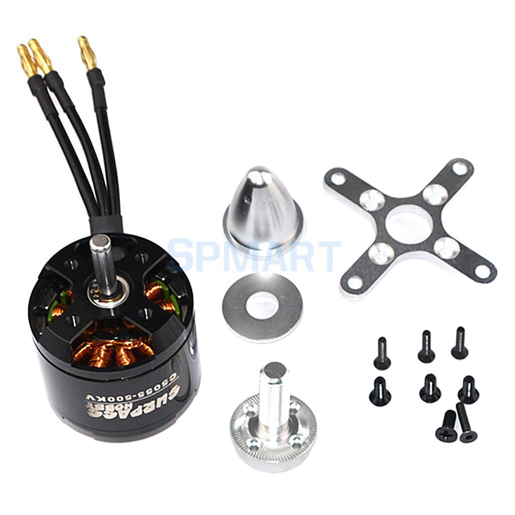 где купить Surpass C4120 500KV 14 Poles Brushless Motor Kit for RC Drone Airplane Fixed-wing Parts DIY по лучшей цене