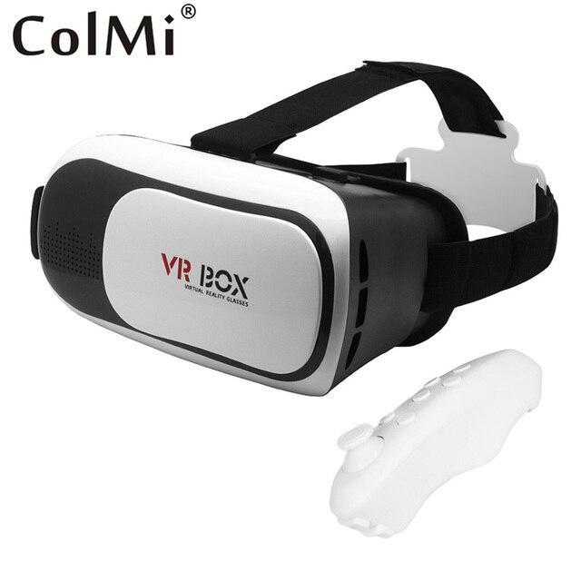 Colmi VR 2.0 Виртуальная Реальность 2 + Bluetooth 3.0 Пульт Дистанционного контроллер 3D Очки Совместимы Для 3.5-6 Дюймов Смартфон VR Гарнитуры