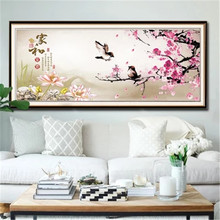 DiamondEmbroidery,China,landscape,scenery,Bird, 5D Full Diamond Painting, Cross Stitch, Flower Mosaic, Decoration