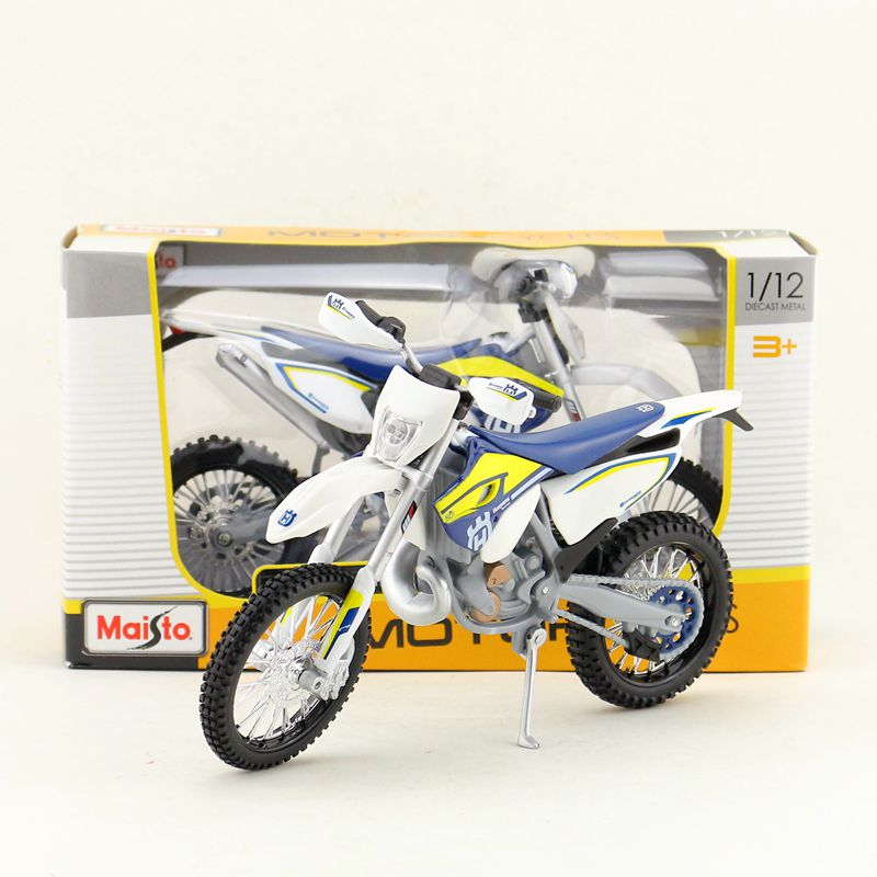 Maisto/1:12 Scale/Simulation Diecast <font><b>model</b></font> <font><b>motorcycle</b></font> toy/KTM Husqvarna FE 501 Supercross/Delicate children's toy/Colllection image