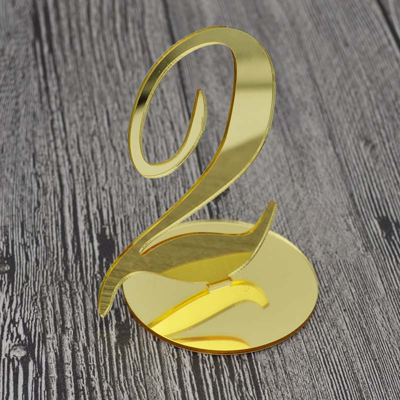 Set 1-10, Wedding Table Numbers, Gold Table Number, Wedding Table Decor, For wedding Silver decor number