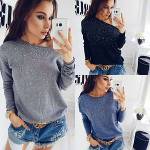 HIRIGIN Knitted Sweaters Cardigan-Size Long-Sleeve Women Tops Autumn Casual New S-XL