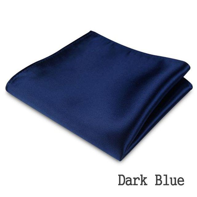 1/2 PC Hot Sale New Men's Formal Satin Solid Plain Color Handkerchief Hanky Pocket Square Wedding Party