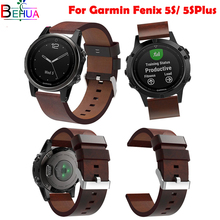 Quality Leather for Garmin Fenix 5S/5S Plus GPS Smart Watch Replacement Quick release Outdoor Sports watchbands Strap Wristband