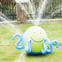 Inflatable Pool Water Spray Ball Squirt Octopus Water Sprinkler Game Toy Family Interactive Game Fun Toys For Kids