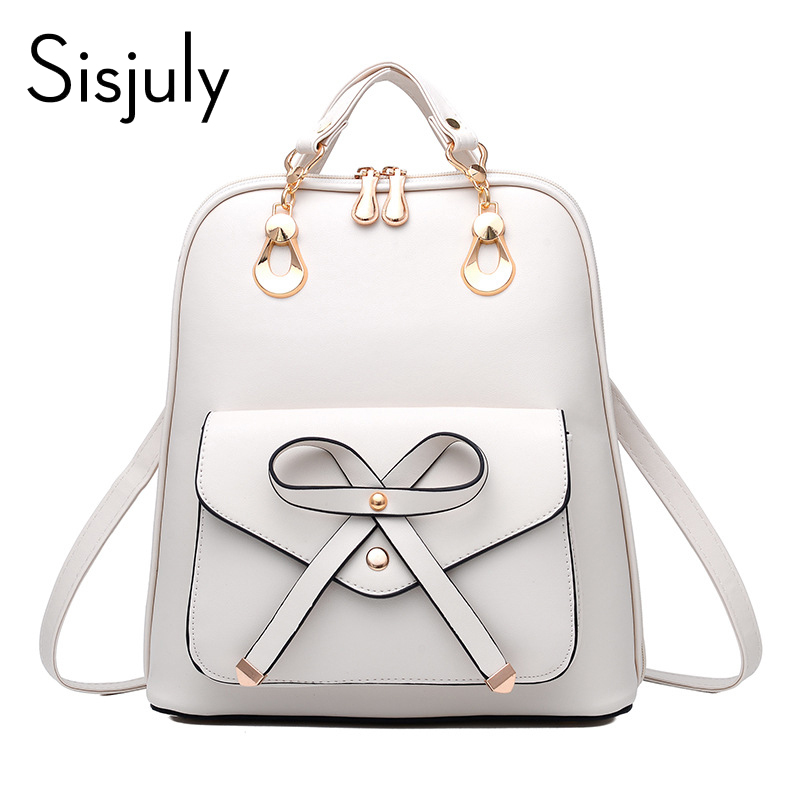 0b2d0b18b47e 2018 Women Leather School Bag Feminine Mickey Ears Style Small School  Backpacks For Teenage Girls Female ...
