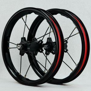 Image 3 - PASAK Sliding Bike Wheelset 12inch Straight pull Bearing BMX Children Kids Balance Bicycle Wheels 85mm 95mm BMX