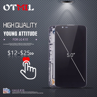 OTMIL 5.3 LCD For LG K10 LCD Display Touch Screen Assembly Frame K410 K430 K430DS K420N 420N For LG K10 TV K10TV LCD Screen #1