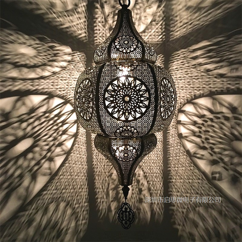 Modern LED Through carved nordic living room pendant lamp bedroom fixtures stair lighting novelty illumination loft